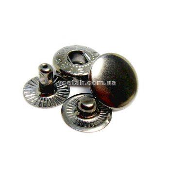 кнопка Alfa блэк-никель