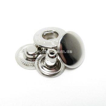 Кнопка Альфа никель 3