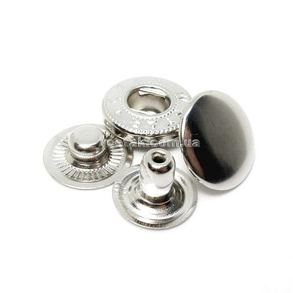 кнопка Alfa никель