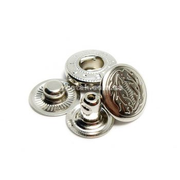 Кнопка Альфа никель рисунок 1