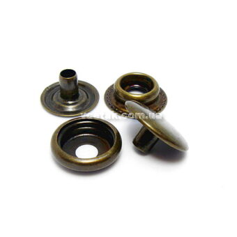 кнопка металлическая для одежды