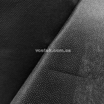Черный флизелин для ткани купить