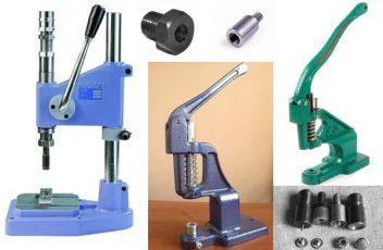 Оборудование для установки швейной фурнитуры фото