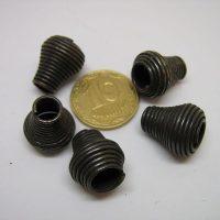 металлические концевики для шнурков