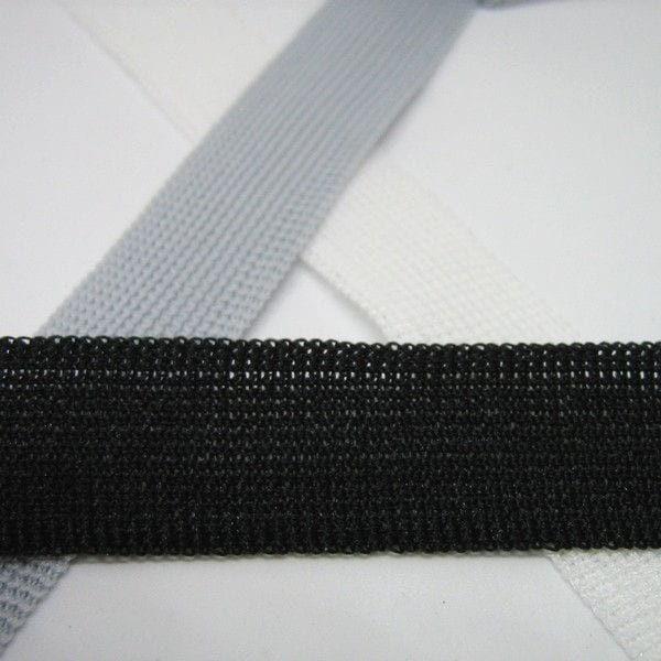 Трикотажная окантовочная лента черная