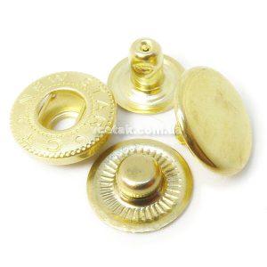 Кнопка Альфа золото