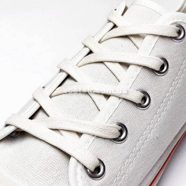 шнурки белые