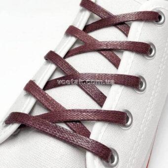 бордовые шнурки