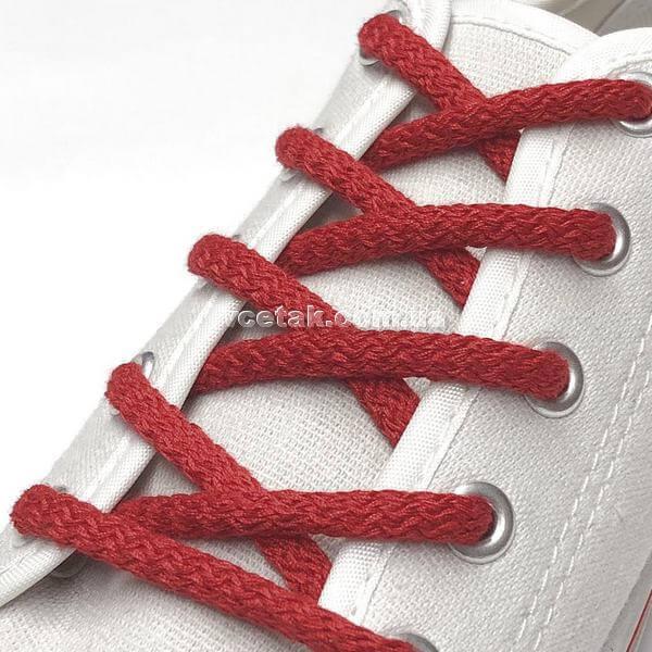 красные шнурки