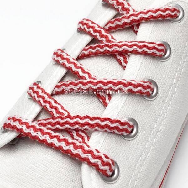 красные шнурки купить