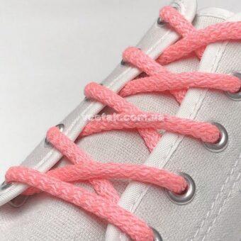 розовые шнурки