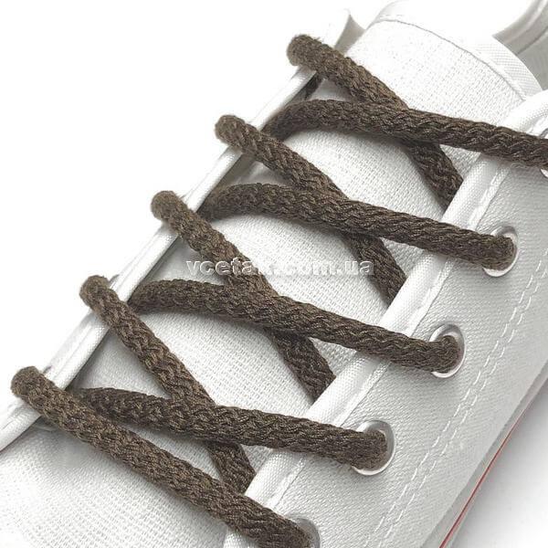 коричневые шнурки
