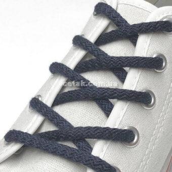 синие шнурки