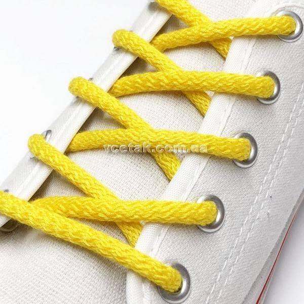 желтые шнурки