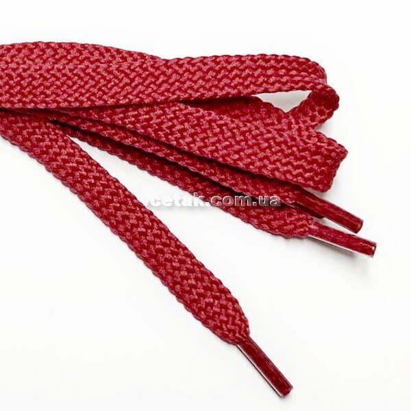 шнурки красные