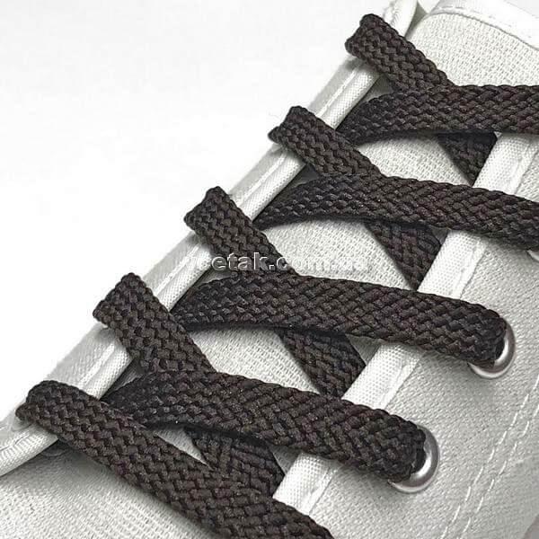 шнурки коричневые