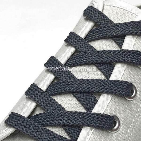 шнурки серые