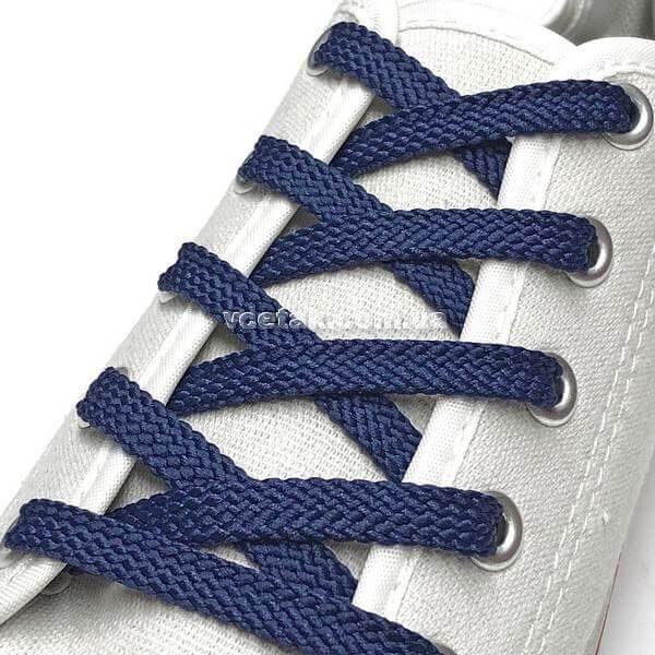 синие шнурки купить