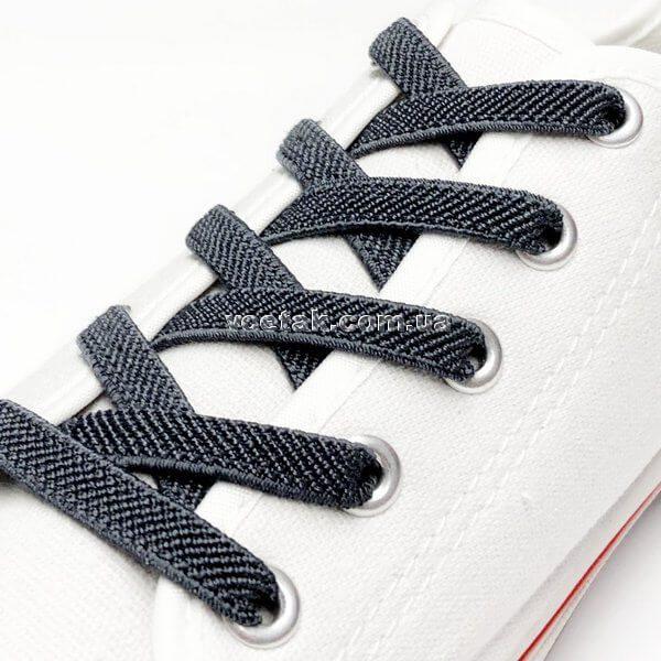Широкие шнурки для обуви