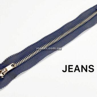молния джинсовая